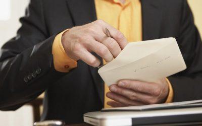 نکات مهم درباره دریافت و ثبت نامه ها در نرم افزار